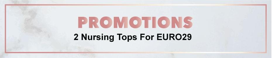 2 Nursing Tops For EURO29